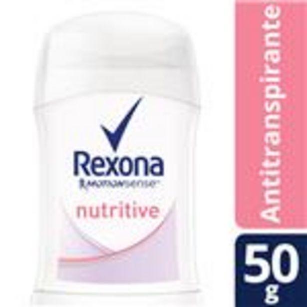 Oferta de Desodorante Antitranspirante Rexona Nutritive En Barra 50 G por $155,99