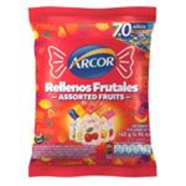 Oferta de Caramelos Duros Rellenos Arcor Paq 140 Grm por $195,99