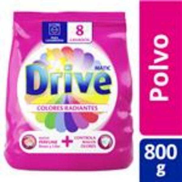Oferta de Jabón En Polvo Drive Matic Colores Radiantes 800 G por $171,99