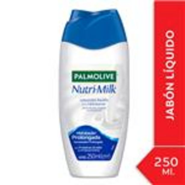 Oferta de Jabón Líquido Corporal PALMOLIVE Nutri-Milk Humectación Prolongada 250ml por $134,99