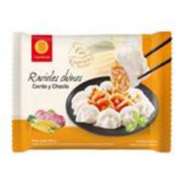 Oferta de Ravioles Chinos Cerdo Y Choclo Fu Bao Paq 400 Grm por $339