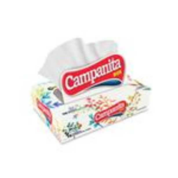Oferta de Pañuelos CAMPANITA Caja 75 Unidades por $51,45