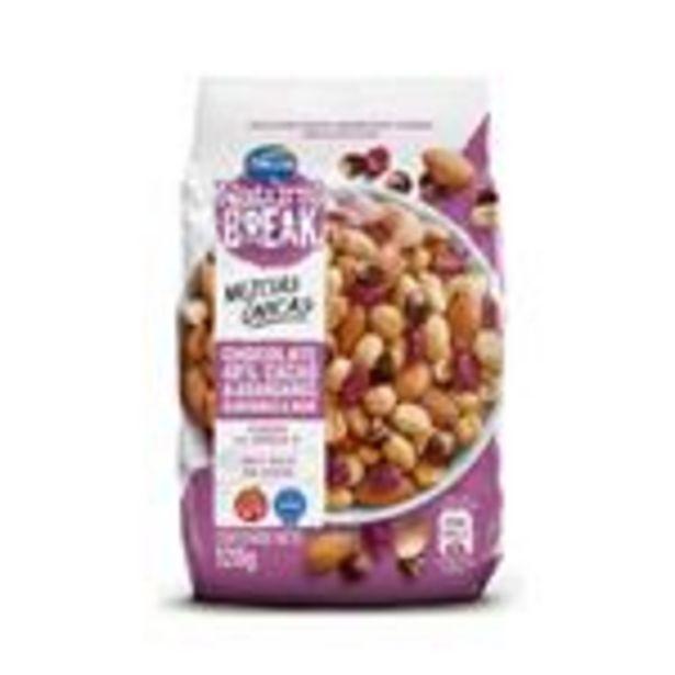 Oferta de Frutos Secos Mani,Choco,Alm Natural Bre Fwp 120 Grm por $375,99