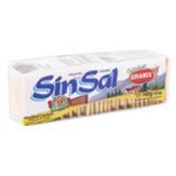 Oferta de Gall.Sin Sal Sin Trans Granix Paq 140 Grm por $52,99