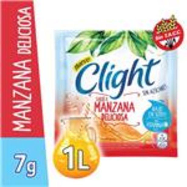 Oferta de Jugo En Polvo CLIGHT Manzana Deliciosa Light   Sobre 7 Gr por $19,9