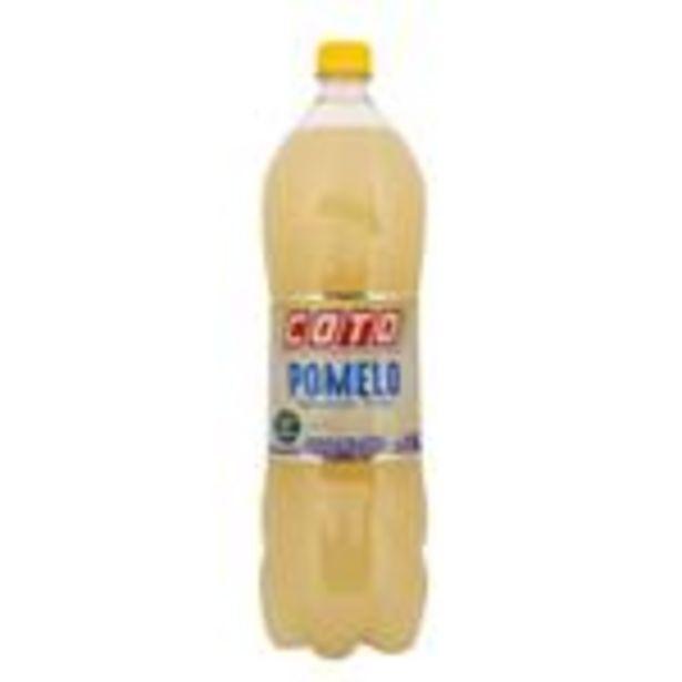 Oferta de Agua Saborizada Coto Pomelo Botella 1.5 L por $58,99