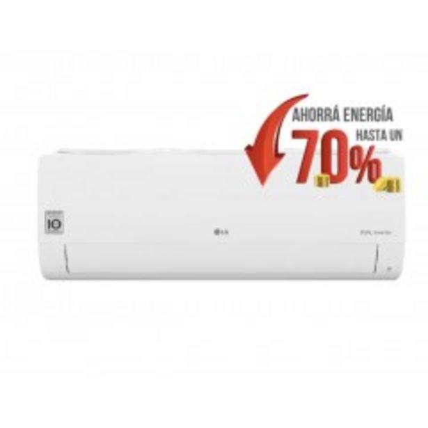 Oferta de Aire acondicionado inverter LG S4-W24KE3A1 por $127805