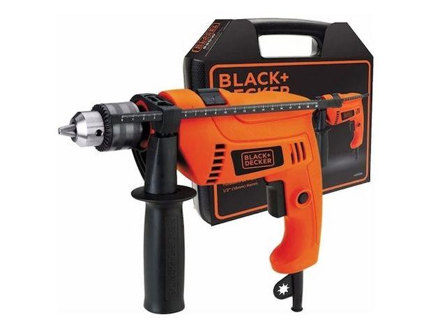 Oferta de Taladro Percutor Black & Dec Hd555K 13 Mm V. por $14399