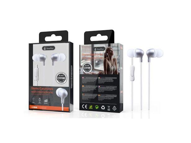 Oferta de Auricular One Plus C5106 Manos Libres Blanco por $789
