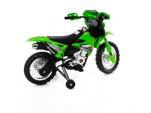 Oferta de Moto Cross a Batería 6V con Luz y Sonido Dencar 7278 por $45999