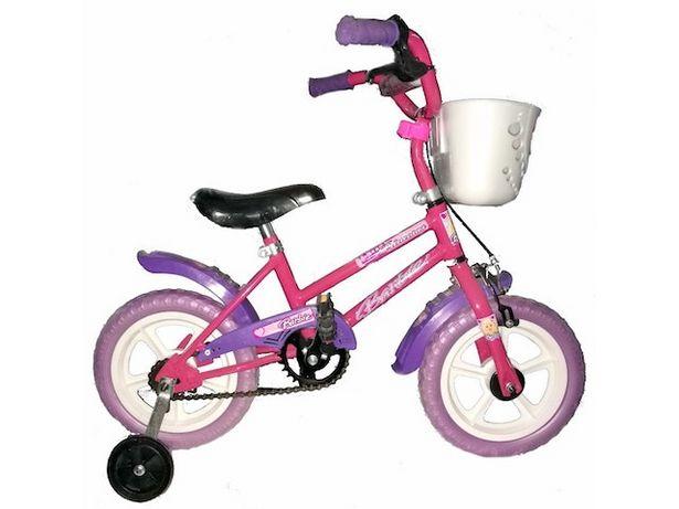 Oferta de Bicicleta Infantil R12 Nena Rosa/Blanco por $16699