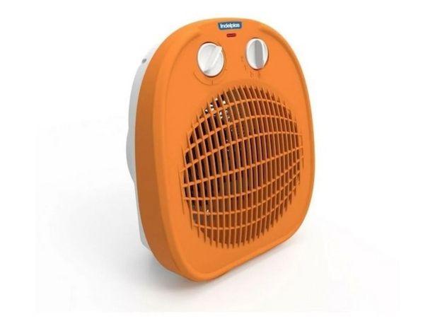 Oferta de Caloventor Indelplas Ic01_02 1800W Timer Naranja por $3099