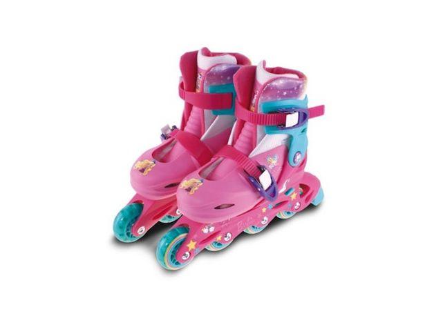 Oferta de Patines Rollers Unibike Barbie Talle Small por $9499
