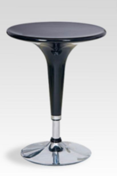 Oferta de Mesa Dielfe LD-826 Redonda Desayuno Plastico/Cromo Negro por $8864
