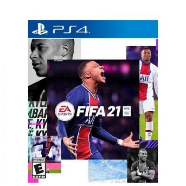 Oferta de Juego Ps4 Fifa 21 por $2699