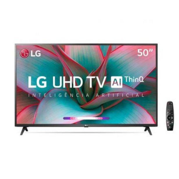 Oferta de Smart Tv Led 4K 50 LG 50Un7310 Uhd Bt por $70699