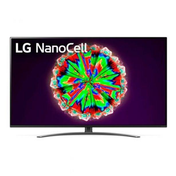 Oferta de TV Led 55 55NANO81 -Ultra Hd - Smart - HDR - Web Os -Magic Remote-Bluetooth por $119499