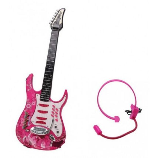 Oferta de Guitarra Electrica Rockera Super Star por $11061