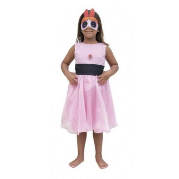 Oferta de Disfraz Infantil -  Superpoderosas Bombon Con Luz - Talle 1 por $1710