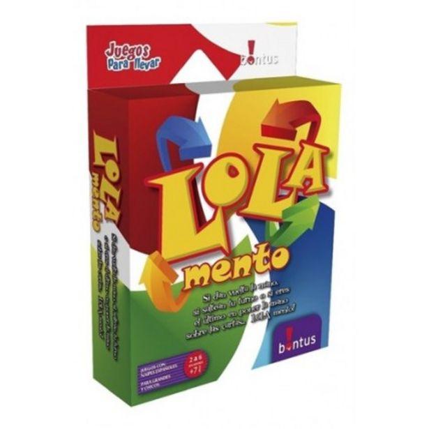 Oferta de Juego De Cartas Lola Mento -  Bontus por $283