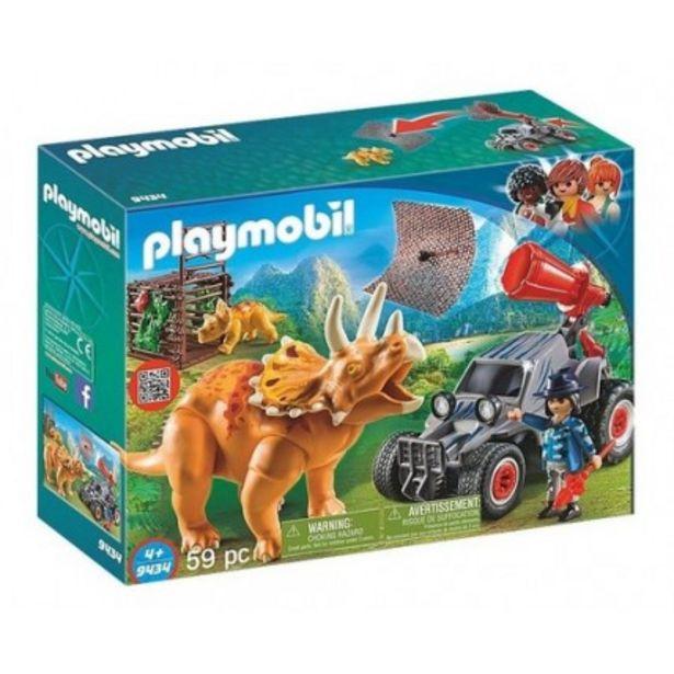 Oferta de Coche Con Triceratops - Playmobil 9434 por $20416