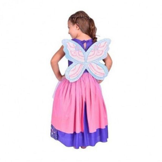 Oferta de Disfraz Barbie Mariposa Violeta Talle 0 por $761