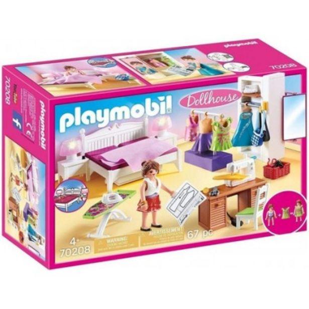 Oferta de Dormitorio Con Rincón De Costura- Playmobil por $14265