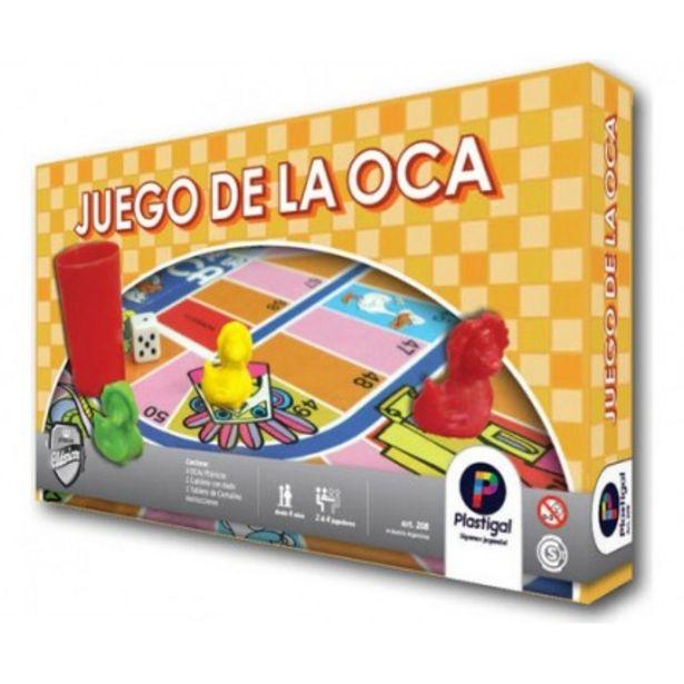 Oferta de Juego De La Oca - Juego De Mesa - Plastigal por $720