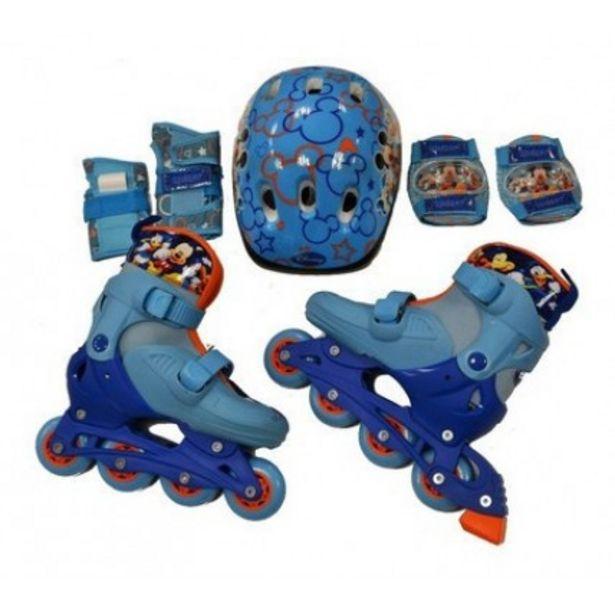Oferta de Rollers Mickey Con Proteccion por $10287