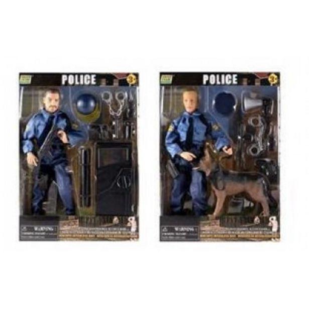 Oferta de Figura Policia Con Accesorios por $5035