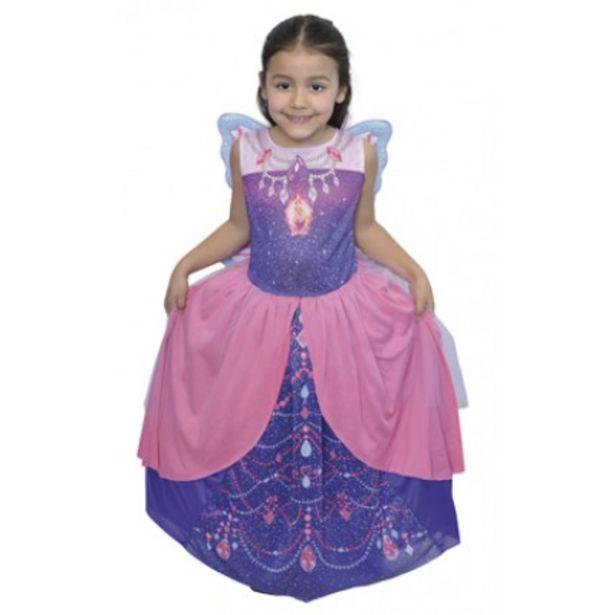 Oferta de Disfraz Barbie Mariposa Violeta  T:2 por $761