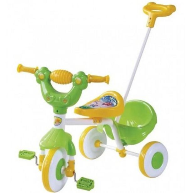 Oferta de Triciclo De Caño Con Manija Y Canasto - por $7249