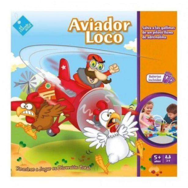 Oferta de Juego De Mesa Aviador Loco - Juegos Y Juguetes por $3685