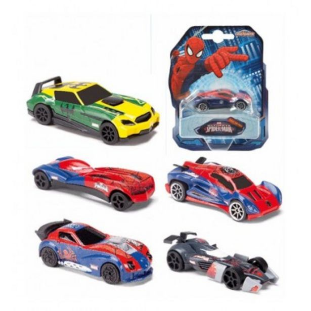 Oferta de Autos Spiderman Metal Pack X1 por $549