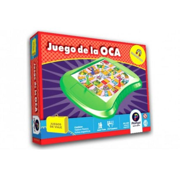 Oferta de Juego De Mesa - Juego De La Oca Magnético por $990