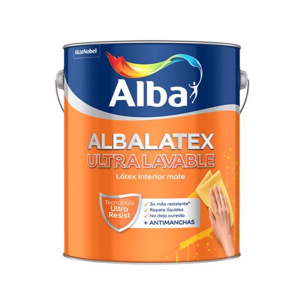 Oferta de LATEX INTERIOR BLANCO ULTRA LAVABLE ALBALATEX por $1263,57