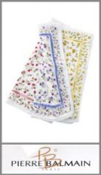 Oferta de Pañuelo grande estampado fondo color para mujer Louis Feraud por $57,99