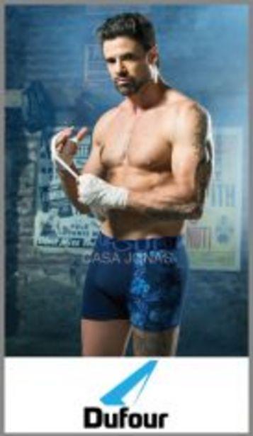Oferta de Boxer algodon/lycra liso y estampado combinado p/hombre Dufour t S/XXL por $439,99