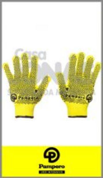 Oferta de Guante de microfibra tejida moteado Pampero en talle unico Fluo! por $159,99
