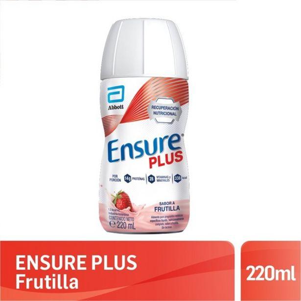 Oferta de Ensure Plus Frutilla 220 Ml por $516,05