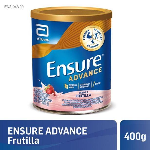 Oferta de Ensure Advance Frutilla 400 Gr por $2166,84
