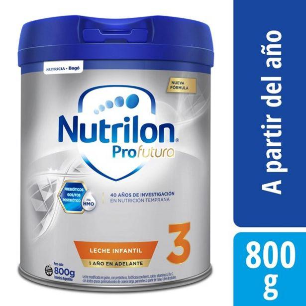 Oferta de Leche Nutrilon 3 Pro Futura Lata X 800 Gr por $1795