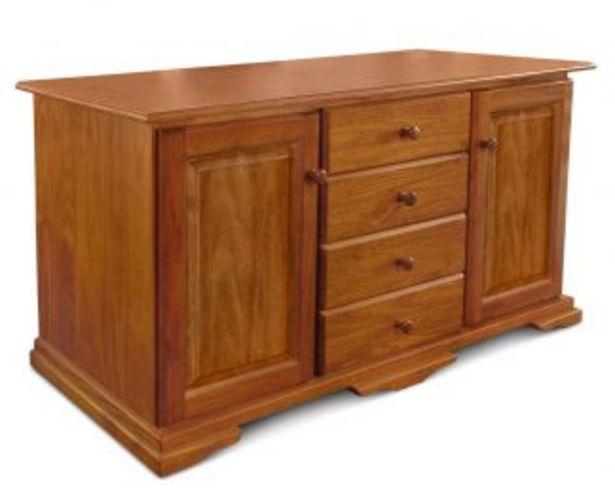 Oferta de Vajillero con puertas de madera FL1 por $32645,7