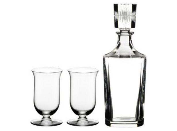 Oferta de Riedel Bar Set Single Malt 2 Copas + Botellon por $45259