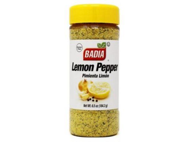 Oferta de Badia Pimienta Limon 184.3 Grs por $911