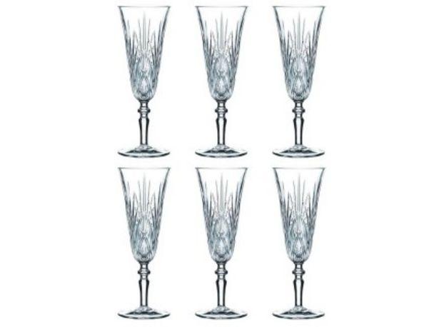 Oferta de Nachtmann Palais Copas Champagne Alta Set 6 por $14817