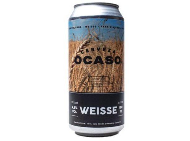 Oferta de Ocaso Weisse 473 Con Lata por $198