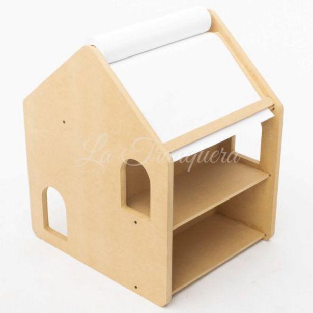 Oferta de Montessori Pizarra Escritorio Casita por $7651