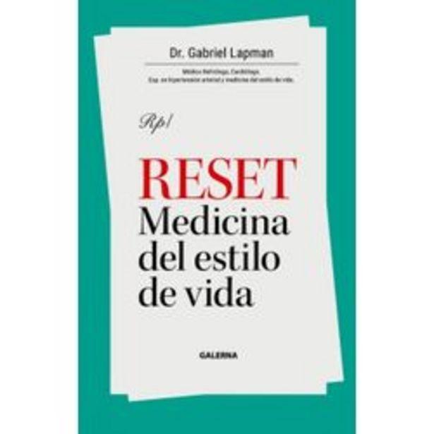 Oferta de LIBRO RESET - MEDICINA DEL ESTILO DE VIDA - GABRIEL LAPMAN por $1690