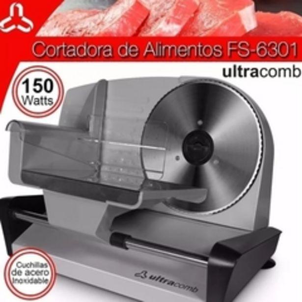 Oferta de CORTADORA DE FIAMBRES ULTRACOMB FS-6301 por $11216,4